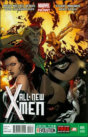 All-New X-Men 5-D by Marvel
