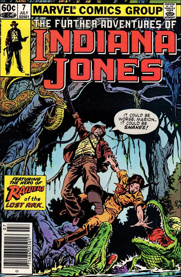 Further Adventures of Indiana Jones 7-A by Marvel