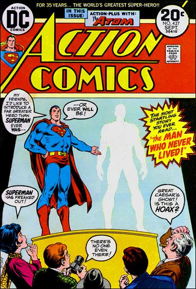 Action Comics (1938) 427-A by DC