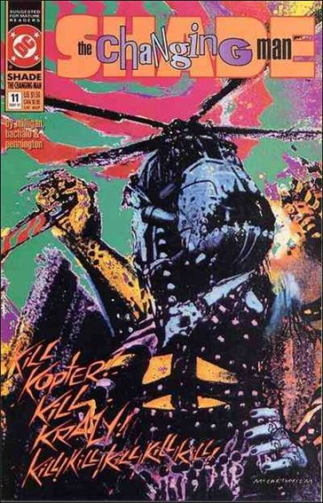 Shade, the Changing Man (1990) 11-A by Vertigo