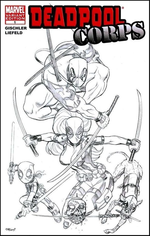 Deadpool Corps 1-C by Marvel