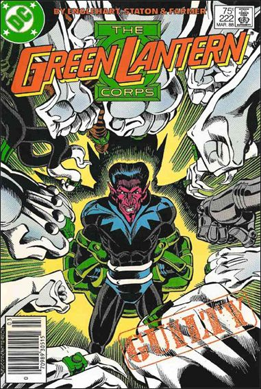 Green Lantern Corps (1986) 222-A by DC