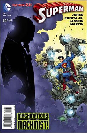 Superman (2011) 34-E
