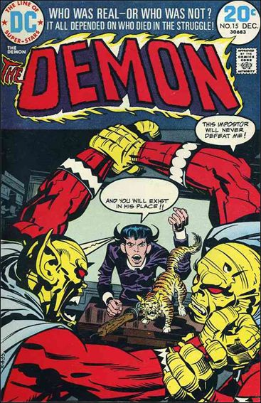 Demon (1972) 15-A by DC