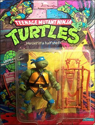 Teenage Mutant Ninja Turtles (1988) Leonardo by Playmates