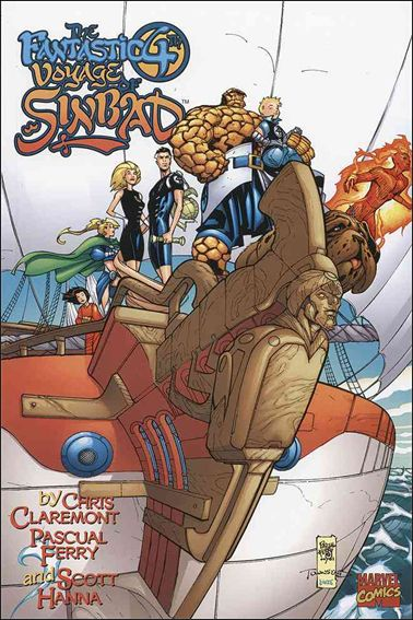 Fantastic 4th Voyage of Sinbad 1-A by Marvel