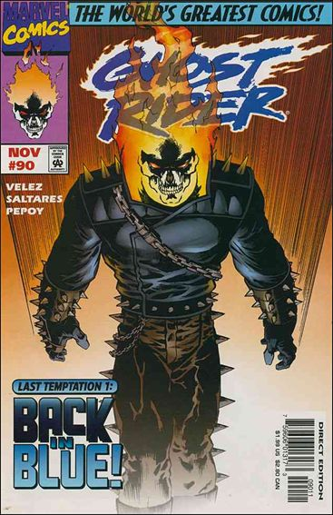 Ghost Rider (1990) 90-A by Marvel