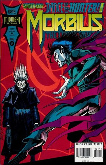 Morbius: The Living Vampire (1992) 21-A by Marvel