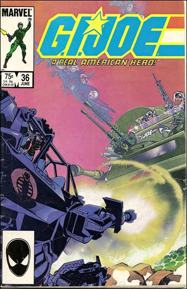 G.I. Joe: A Real American Hero 36-A by IDW