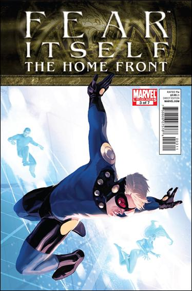 Fear Itself: The Home Front 3-A by Marvel