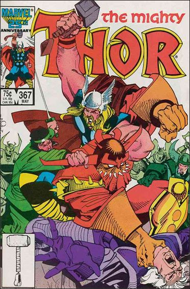 Thor (1966) 367-A by Marvel