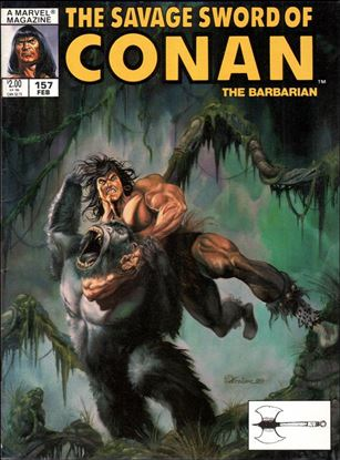 Savage Sword of Conan (1974) 157-A