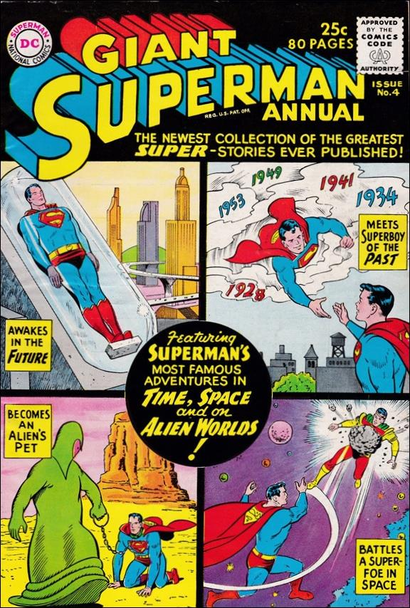 Superman Annual (1960) 4-A by DC