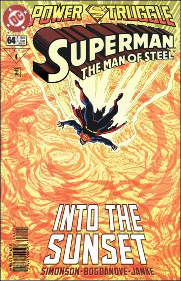 Superman: The Man of Steel 64-A by DC