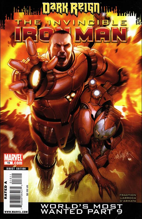 Invincible Iron Man (2008) 16-A by Marvel
