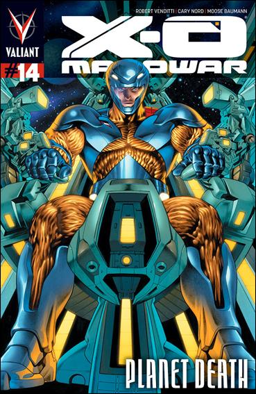 X-O Manowar (2012)  14-A by Valiant Entertainment