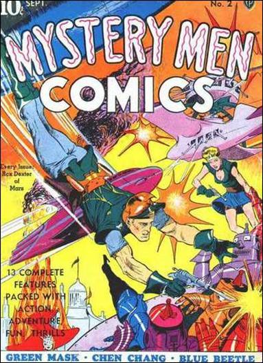 Mystery Men Comics 2-A by Fox