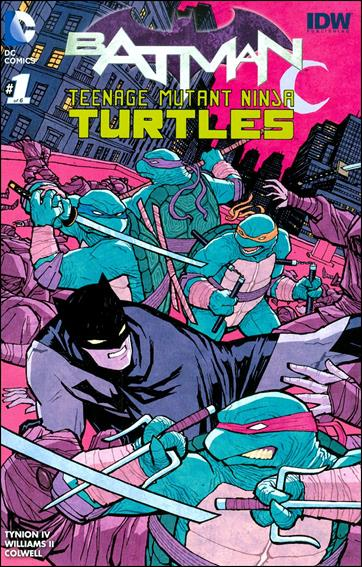 Batman/Teenage Mutant Ninja Turtles 1-MP