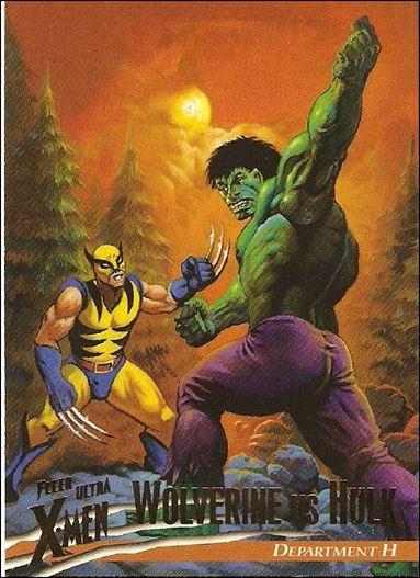 1996 Fleer Ultra X-Men: Wolverine (Base Set) 14-A by Fleer