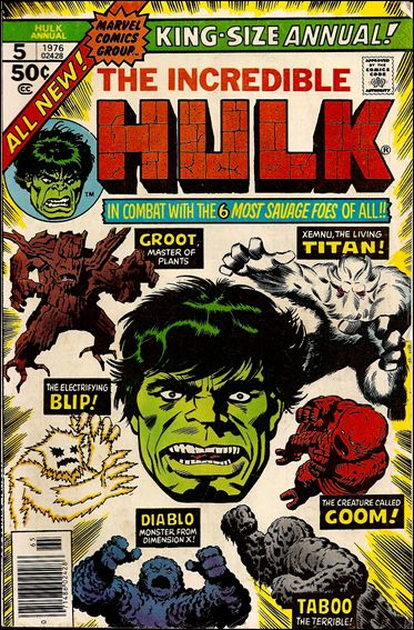 Incredible Hulk Annual  5-A by Marvel