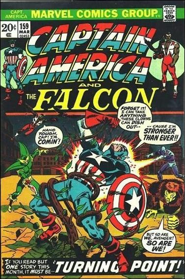 Captain America (1968) 159-A by Marvel