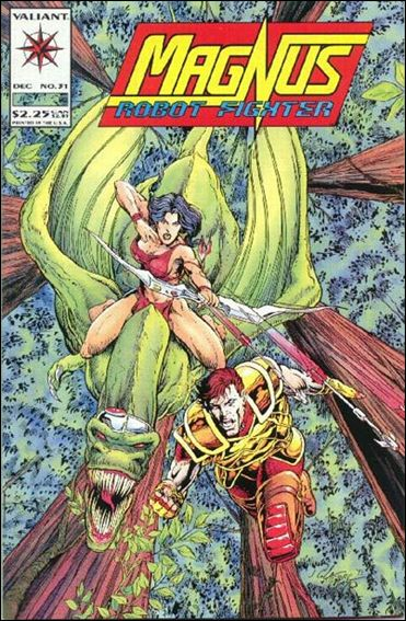 Magnus Robot Fighter (1991) 31-A by Valiant
