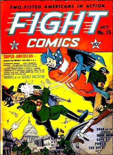 Fight Comics 15-A by Fiction House Magazines