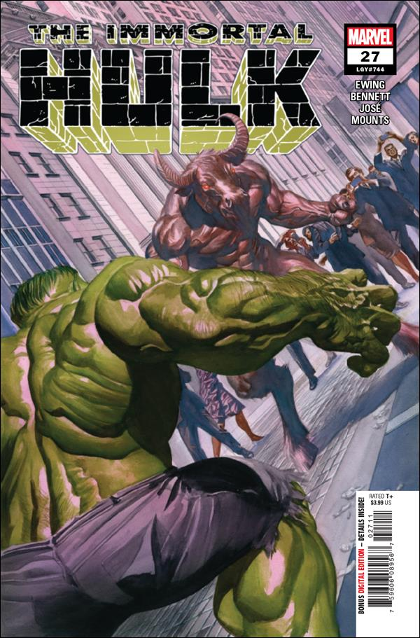 Immortal Hulk 27-A by Marvel