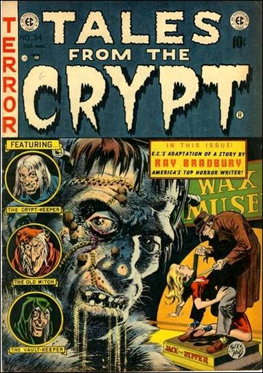 Tales from the Crypt (1950) 34-A by E.C.