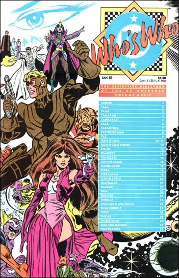 Who's Who: The Definitive Directory of the DC Universe 23-A by DC