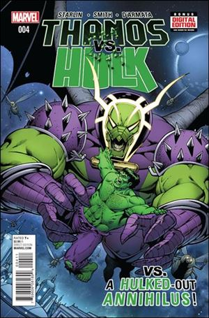 Thanos vs Hulk 4-A