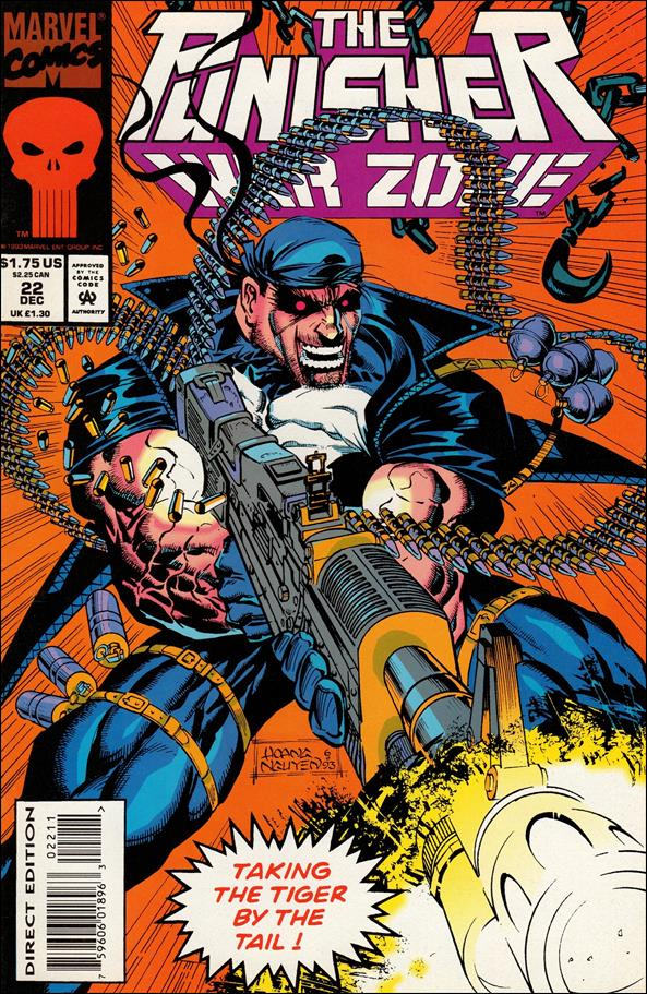Punisher: War Zone (1992) 22-A by Marvel