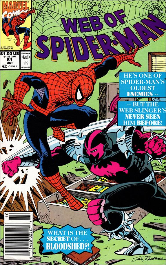 Web of Spider-Man (1985) 81-A by Marvel