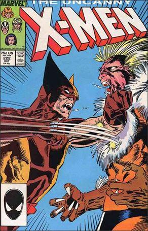 Uncanny X-Men (1981) 222-A