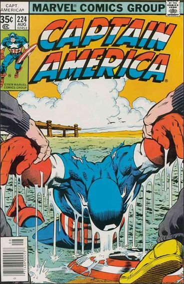Captain America (1968) 224-A by Marvel