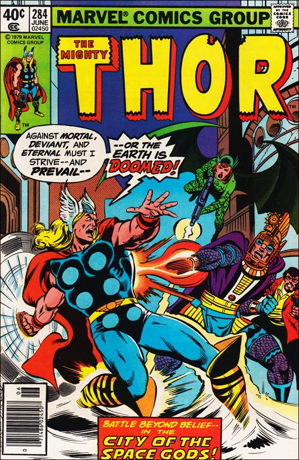Thor (1966) 284-A by Marvel