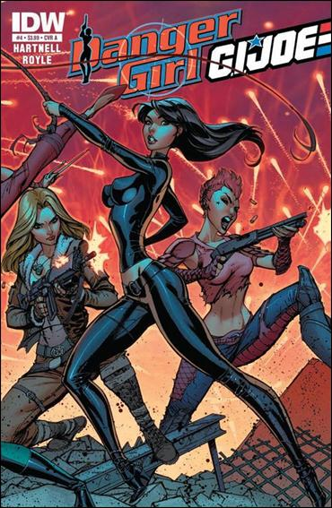 Danger Girl/G.I. Joe 4-A by IDW