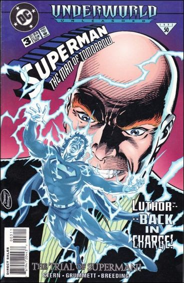 Superman: The Man of Tomorrow 3-A by DC