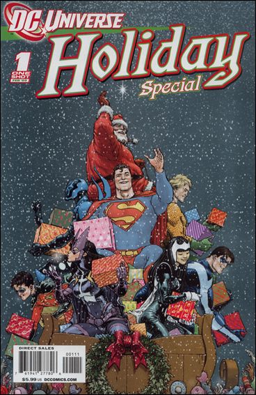 DCU Holiday Special 1-A by DC