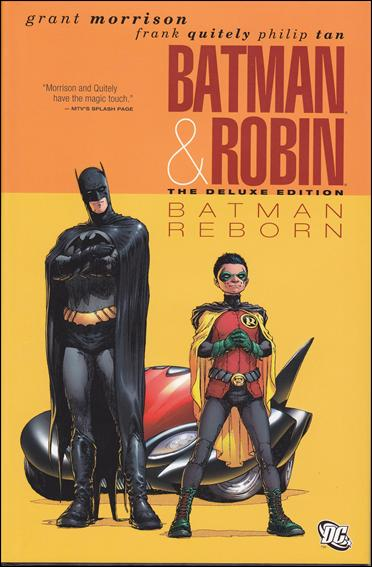 Batman and Robin: Batman Reborn - The Deluxe Edition 1-A by DC