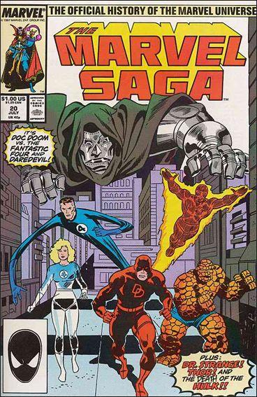 Marvel Saga 20-A by Marvel