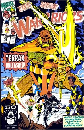 New Warriors (1990) 16-A