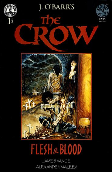 Crow: Flesh and Blood 1-A by Kitchen Sink
