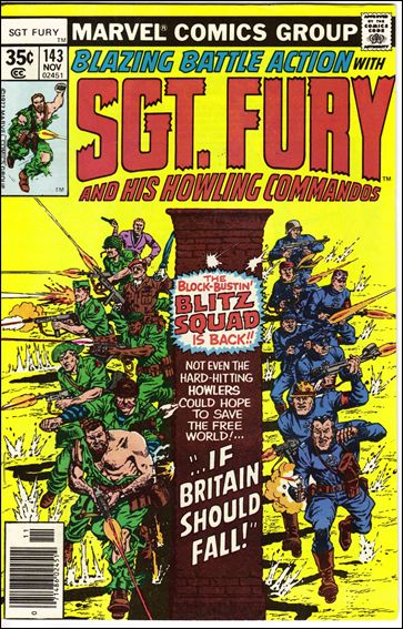 Sgt. Fury and His Howling Commandos 143-A by Marvel