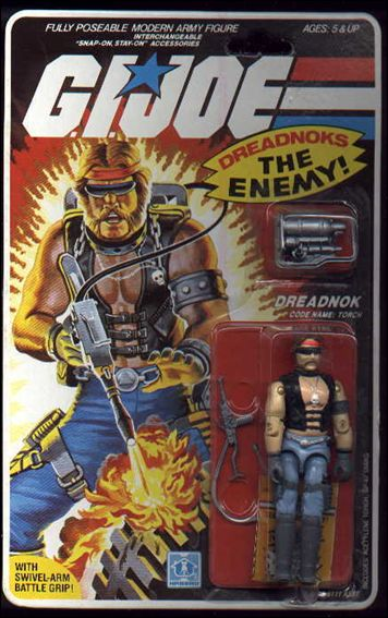 G.I. Joe: A Real American Hero 3 3/4&quot; Basic Action Figures Torch (Dreadnok) by Hasbro