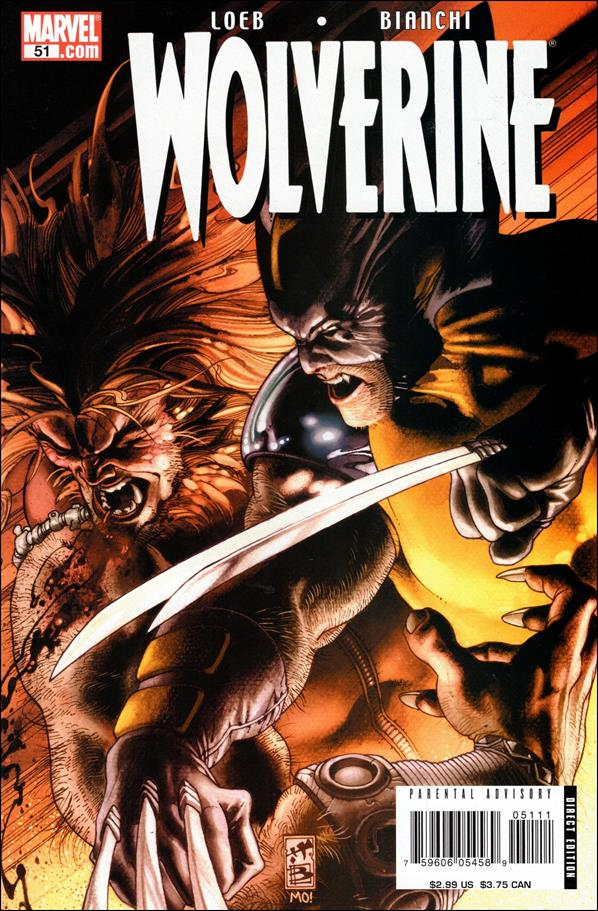 Wolverine (2003)  51-A by Marvel