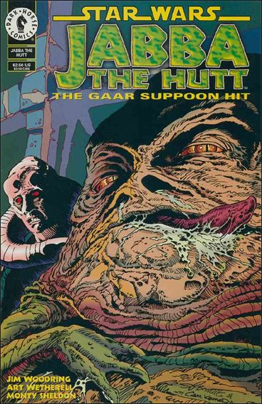 Star Wars: Jabba the Hutt 1-A by Dark Horse