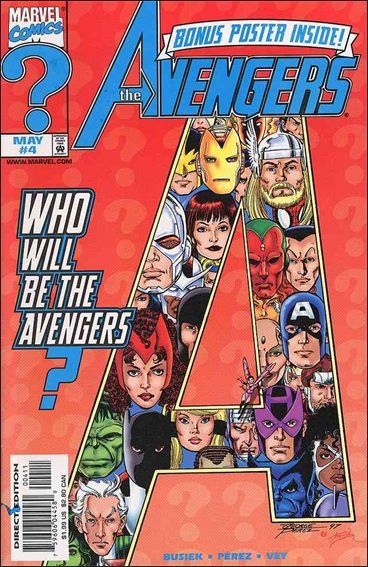 Avengers (1998) 4-A by Marvel