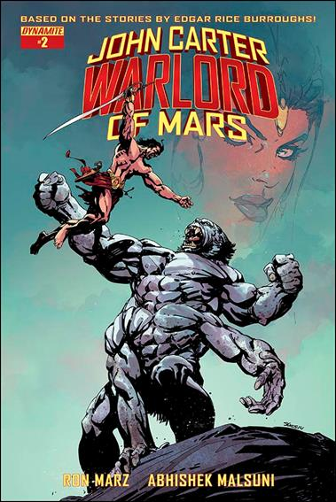 John Carter: Warlord of Mars (2014) 2-B by Dynamite Entertainment