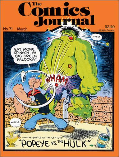 Comics Journal 71-A by Fantagraphics